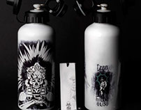 MICTLAN 9 WATER BOTTLE Ilustration