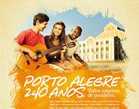 Porto Alegre - 240 Anos