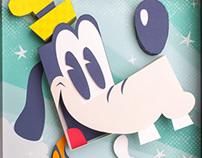 Disney Triptych