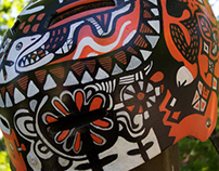 Helmet Painting with Posca Paint Pens