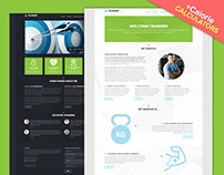 PLANAR - Personal Trainer Site Template