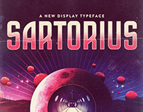 SARTORIUS - A new display typeface.