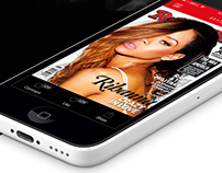 RollingStone mobile app, Design concept