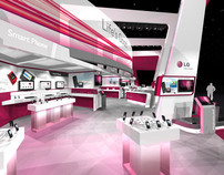 LG CTIA Exhibit Design Concept
