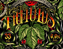 Humulus Beer - label design