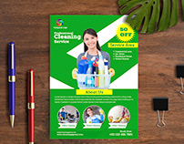 Cleaning Service Flyer Templates