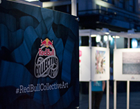 Red bull Collective Art by Stap i Kanap Studio