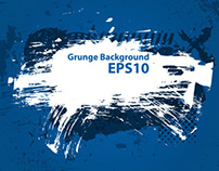 Grunge Background Set
