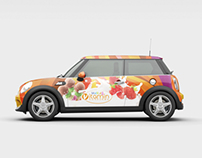 Vittamin Dondurma Car Branding