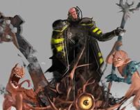 Staff of hell