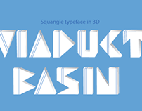 Typeface inspired from Viaduct Basin