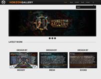 Horizon Gallery Website Design