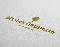 "Logo for ""Mister Geppetto"""