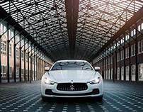 Maserati Ghibli by photographer René Staud