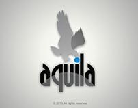 AQUILA  COOPERATE IDENTITY BRANDING