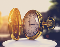 Pocket watch CGI