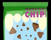 Monster Chip Cookie Packaging
