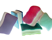 Scotch-Brite Ultra NailSaver Sponge