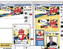Ação online Super Pai - Rede Condor