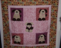 Little puppies quilt!!!