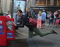 Levitation in New York City