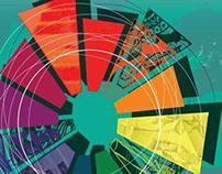 Color Wheel Senior Exhibit Poster