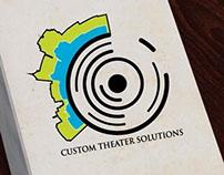 Custom Theater Solutions Logo Option