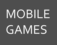 """Nighty Knight"" iOS game and Amalgamoid mobile game"