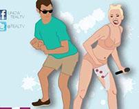 Miley Cyrus Twerk Poster