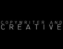 Copywriter and creative