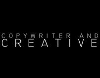 Copywriter and creative