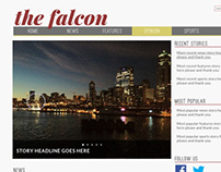 The Falcon Website Redesign