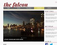 The Falcon Website Redesign