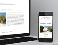 Casino di Caprafico - Responsive Website