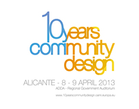 10 Years Community Design Conference