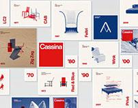 Cassina timeline