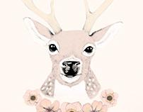 Poppy & Deer