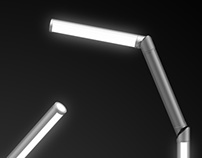 Hinge lamp for Artemide contest
