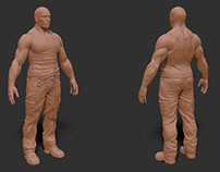 SCULPTING: MALE CHARACTER