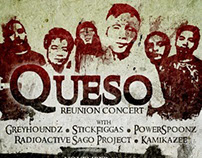 Queso: Reunion Concert Poster (Unofficial)