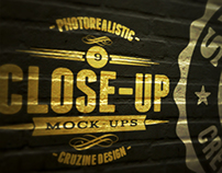 Photorealistic Close-up Mock-ups v.1
