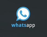 Whatapp Redesign Concept