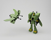 the transformer (robot) -3D Model-