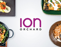 Pitch designs for ION Orchard Culinary Creations 2015