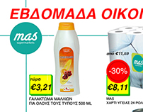 Advertising flyer for a Supermarket chain (Sample)