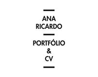 ANA RICARDO // PORTFOLIO AND CV // ARCHITECT