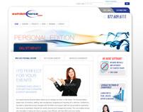 Exhibitforce Website Redesign