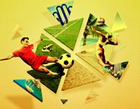 Campeonato de Volei e Futebol
