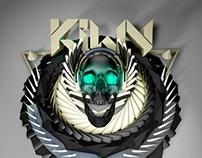 3D Logo Design \ Kiwy