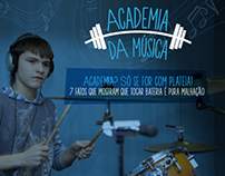 "Infographic ""Music Gym"" - 2013"